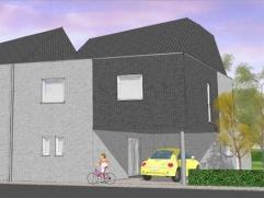 Te Ronse op de oude leuzesesteenweg, projekt van 2 HOB nog te bouwenBouwgrond  LOT1 bestemd voor het bouwen van een half open bebouwing ( 4a 82c
