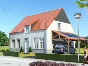 Nieuw te bouwen perfecte gezinswoning in Cottage/landelijke bouwstijl met een  bewoonbare oppervlakte van 160m².! E-peil= +/- 60!!!Gelegen in een