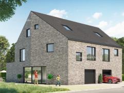 Aantrekkelijke nieuw te bouwen gezinswoning in een nieuwe, rustige verkaveling Etienne Verschuerenstraat (zijstraat van de Dammekensstraat) Heel centr