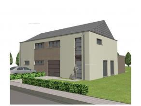 Nieuw te bouwen perfecte gezinswoning in moderne bouwstijl met een maximale bewoonbare oppervlakte van 195m² inclusief garage! (mogelijkheid tot