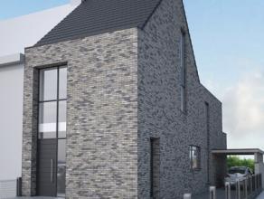 Nieuw te bouwen woning aan het centrum van Brakel, gelegen op een perceel bouwgrond van 739m². Deze woonst wordt verkocht in een water- en winddi