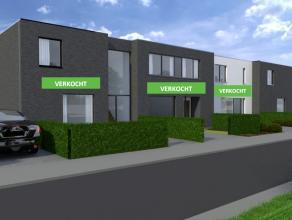 LAATSTE HALFOPEN BEBOUWING! Robuust & strak concept bestaande uit vier nieuwbouwwoningen met een hedendaagse architectuur gelegen in een aangenam