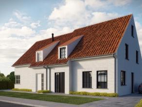 """""""Wonen in een landelijke omgeving""""  Deze landelijk getinte halfopen nieuw te bouwen kwaliteitswoning met 3 (of 4) slaapkamers op een grondoppervlakt"""