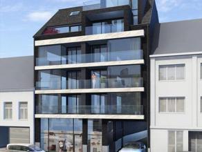 Nieuwbouwappartement (derde verdiep), 87m² oppervlakte, living met volledig ingerichte open keuken, badkamer met ligbad en inloopdouche, berging,
