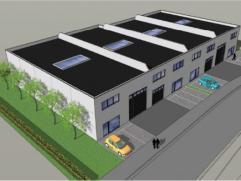Laatste 2 magazijnunits Oppervlakte: 313m² magazijn met mezzanine (72m²) en 337m² magazijn met mezzanine (72m²) ; units zijn comb