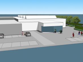 1480m² winkelruimte met 370m² opslagruimte Ligging: langs baan Zele-Dendermonde Beschikbaar: 01/09/15
