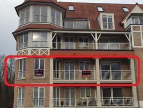 Contactname: Annick Coppens - 0476/24.76.12 Heel mooi en ruim appartement met terras en buitenstaanplaats. Dit appartement omvat inkom met toilet, 2 s