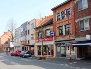 Ruim HANDELSPAND (188 m²) in de bruisende centrumstraat met mogelijkheid tot WOONST & nabij ruime parking.