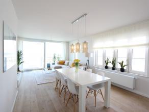Subliem nieuwbouw hoekappartement op de Zeedijk van Zeebrugge met 3 slaapkamers. De Gerlache staat op de hoek van de dijk en het centrale plein in Zee