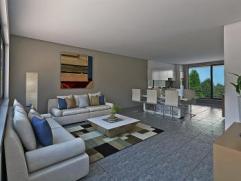 2 ruime (116 m²) nieuwbouw duplexappartementen rustig gelegen en prachtig uitzicht - living (39m²) met open ingerichte keuken - badkamer - 2