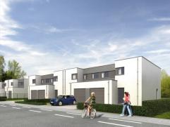 Nieuw te bouwen driegevelwoning met aandacht voor ecologie (E-peil 60) , beperkt onderhoud en comfort. De woning beschikt over een aangename leefruimt