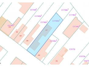TE KOOP Alleenstaande Woning  Molenstraat 27 - Waarschoot  Omvattende:  inkomhall, living, keuken, wc,  berging, kruipkelder, overdekt terras, g
