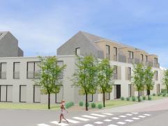 Nieuwbouw appartement D2.1 met 1 slaapkamer in woonerf Hopveld op de hoek van de L. Carréstraat en Hopvelden te 2220 Hallaar (Heist-op-den-Berg