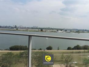 Wilt u elke dag genieten van dit uitzicht? Nieuwbouw appartement te Antwerpen Linkeroever met uniek uitzicht op het Galgenweel en de Schelde. Luxueuze