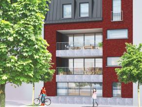 Aan het mooie Van Hombeeckplein, links van de Academie voor beeldende kunst, treft men dit nieuwbouwpoject. Het project bestaat uit 4 appartementen en