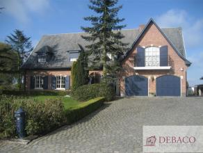 Prachtige ruime villa, in uitstekende staat en zeer goed onderhouden, is rustig gelegen met achteraan een prachtig landelijk uitzicht. Deze eigendom b