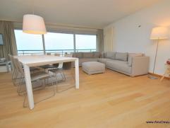 Uitstekend gelegen ongemeubeld appartement op de Zeedijk, vlakbij het Casino. Mooi en breed terras. Samenstelling: inkom, toilet, be