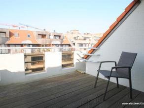 Mooi duplex-appartement gelegen in een rustige zijstraat van de Lippenslaan, vlakbij het commerciële centrum en op enkele minuten rijden van het