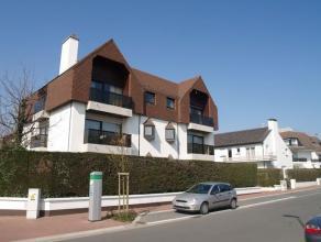 Tweeslaapkamerappartement in een villa-residentie, uitstekend gelegen op het Albertstrand, aan de rand van het centrum en vlakbij het Rubensplein, het