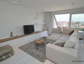 Recent (2012) dak duplexappartement in de Engelsestraat te Duinbergen, vlakbij het strand en zuidgericht met panoramisch zicht over Duinbergen e