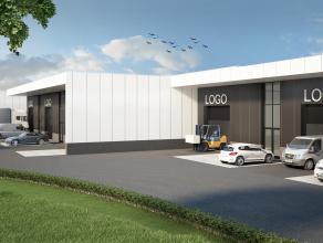 Deze bedrijfruimte is gelegen op de industriezone van Ekkelgaarden in Hasselt. Dit multifunctioneel bedrijvenpark zal een totaal van 10.000m² bed