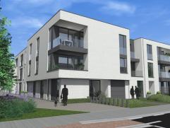 Gelijkvloers appartement in De Witte Poorte met een bewoonbare oppervlakte van 75m², een tuin en een terras. Dit appartementen is voorzien van a