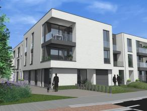 Gelijkvloers appartement in De Witte Poorte met een bewoonbare oppervlakte van 90m², een tuin en een terras. Dit appartementen is voorzien van a