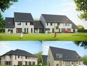 Dit woonproject zal bestaan uit een 40-tal nieuwbouwwoningen: een combinatie van open, halfopen en gesloten bebouwingen allen voorzien van onder ander