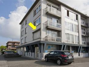 Centraal gelegen hoekappartement met 2 slaapkamers, gelegen op de 1° verdieping van een vrij klein gebouw nabij de groenzone Bremweide. Het appart