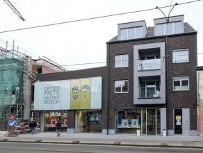 Nieuwbouwproject 'Deurne Dorp', Turnhoutsebaan 35-37. Klein gebouw (3 verd. ) met lift. Het appartement (ca. 65 m²) op de 2° verd. omvat een