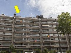 Prachtig en luxueus dakappartement (155m²) gelegen op de 7Â verdieping van een goed onderhouden gebouw (lift tot 6Â). Het appartement