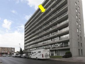 Licht en verzorgd appartement op de 6° verd. van een goed onderhouden gebouw (met lift), gelegen vlakbij de ingang van het park Sterckshof. Het ap