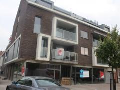 Nieuwbouwappartement in afwerkingsfase voorzien van inkomhal, ruime living met open ingerichte keuken, ruim terras, berging, twee slaapkamers, bureelr