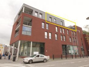 Zeer mooi en ruim appartement met een bewoonbare opp. van ca. 115m² excl. terras van ca. 58m². Het appartement is gelegen aan het station e