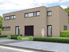 Prachtige halfvrijstaande woning op een perceel van 3 are 90 ca met op het gelijkvloers een ruime inkomhal met een apart bezoekerstoilet en een inpand