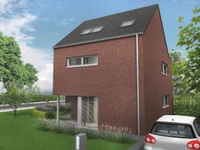 Prachtige halfvrijstaande nieuwbouwwoning (In casco ) met op het gelijkvloers een ruime inkomhal met een apart bezoekerstoilet, een ruime wasplaats, d