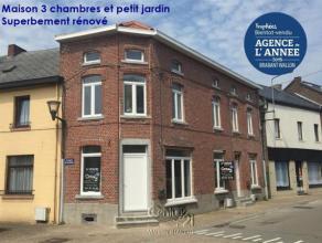 CENTURY 21 Maison Blanche vous propose dans le village de Pont-à-celles (5min de Luttre) une maison entièrement rénovée en