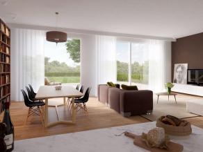 GULDENDAL, rustig wonen aan de rand van Mechelen. Residentie Guldendal bevat 25 woningen (4 slpk) met tuin, tuinhuis/fietsenberging en anderzijds 39 a