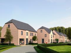De Acherhof omvat 13 nieuwbouwwoningen gelegen in een doodlopende straat in het centrum van Oelegem. De woningen worden opgetrokken in een landelijke