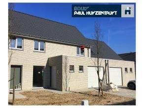 Geraardsbergen project Oudenaardsestraat. Mooie nieuwbouwwoning (tussenbouw), instapklaar met afgewerkte keuken, living, berging, hall, badkamer, 3 sl