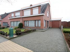 HOB met tuin en garage gelegen op een gunstige locatie te Beveren.De keuken,de hoogrendementsketel met centrale verwarming,de tuin,de garage,de liggin