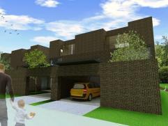 Moderne, halfopen bebouwing (perceel: 409m²) in een residentiële woonwijk te Wachtebeke. De afwerking naar keuze, de carport en de residenti