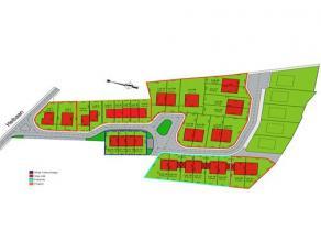 27 bouwpercelen in een nieuwe verkaveling voor open, halfopen en gesloten bebouwing. Architectuur vrij te kiezen.Troeven:- Vlakbij de N464 en de N46-