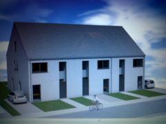 In een nieuwe verkaveling worden er 3 welgelegen woningen gebouwd: 2x halfopen en 1x gesloten bebouwingen. Deze worden wind- en waterdicht opgeleverd.