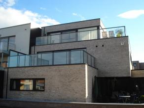Splinternieuw, trendy en licht appartement met 2 slaapkamers en een zeer groot terras (28m2) aan de achterzijde van een nieuw gebouw op de Tongerseste