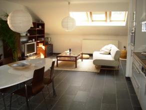 Mooi en rustig appartement vlakbij het centrum van Sint-Truiden met hal, living, open keuken, berging, badkamer met bad, apart toilet en slaapkamer me