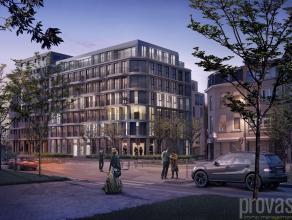 Aan de volledig vernieuwde Amsterdamstraat, het hart van ?t Eilandje, komt binnenkort deze nieuwste realisatie van de hand van Crepain Binst Architect