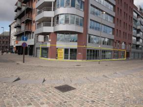 Instapklare kantoorruimte van ca 185 m² op een toplocatie op het Eilandje. De ruimte is gelegen op de hoek van het Verbindingsdok-Westkaai met de