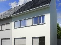 Nieuw te bouwen woning in hedendaagse stijl met alle comfort. Kwalitatief hoogstaande materiaalkeuze! Volledig afgewerkt.  Beeld ter illustratie, perf