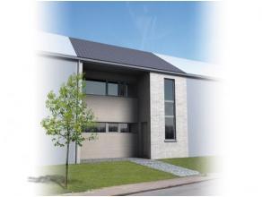 Nieuw te bouwen energie zuinige 3 gevelwoning, op een grond van 5are56